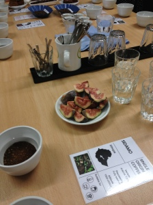 Discovering the flavour of fresh figs in coffee